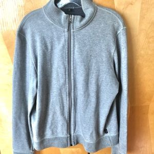 Hugo Boss zipper sweater